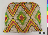 Front View of woven Handbag with...
