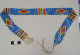 Front View of Beaded Headband