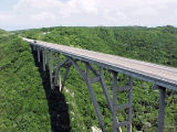 Modern Cuban bridge